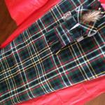 Kilt in the Modern Green Scott tartan